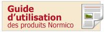 Guide d'utilisation des produits Normico